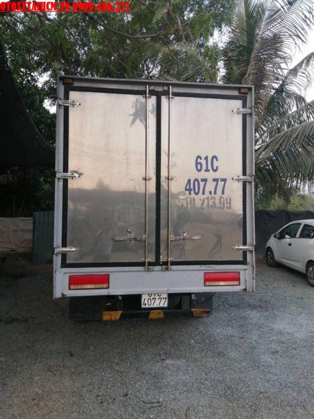 xe tải 3t5 thùng kín