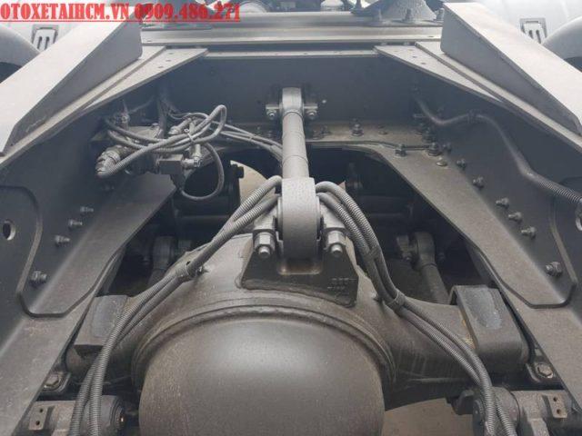 chassi của đầu kéo Daewoo