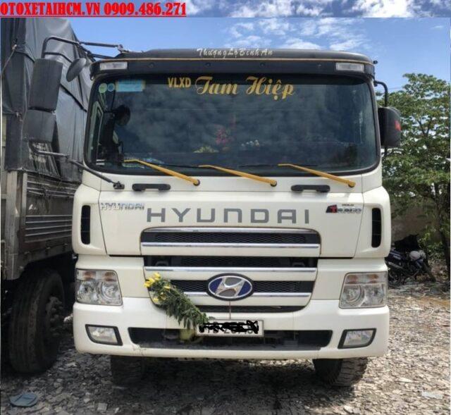 xe ben hyundai hd270 cũ