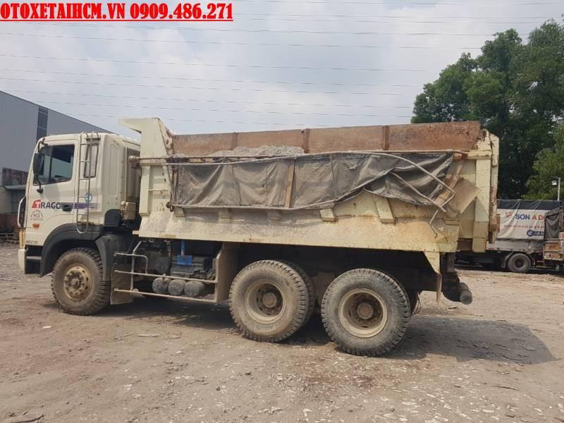 xe ben cũ 10 khối hyundai
