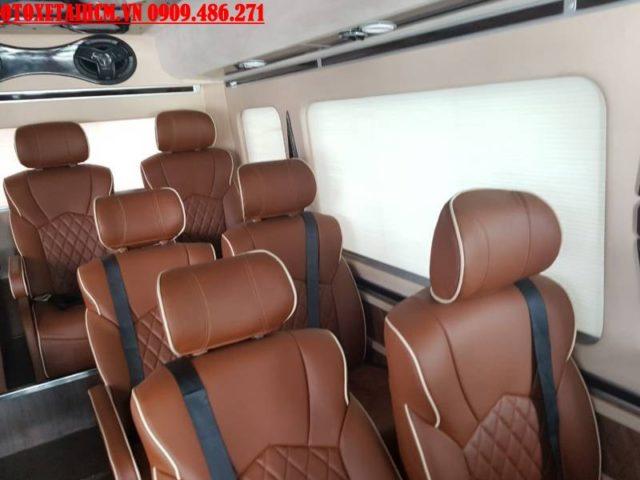 ghế xe limousine