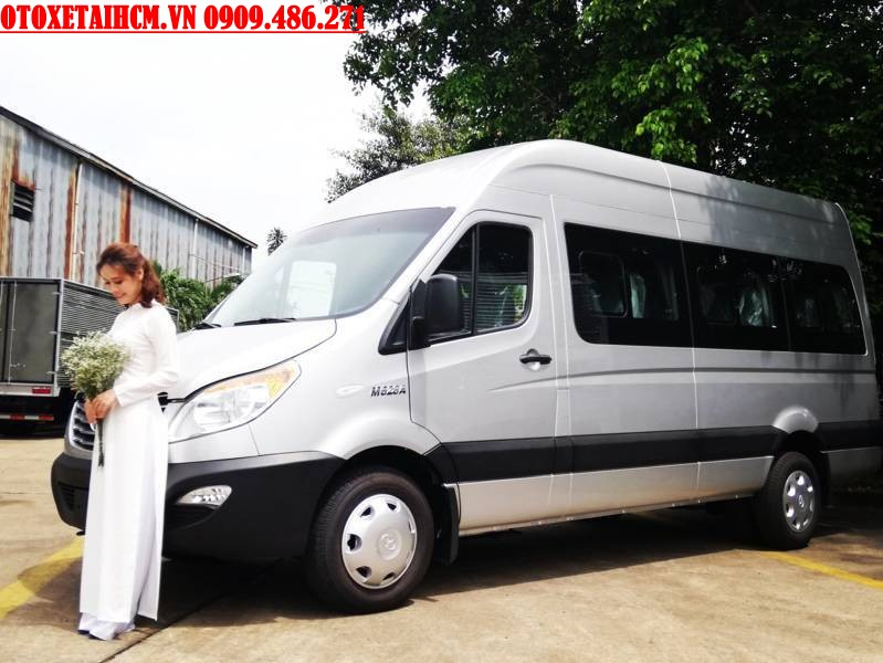 xe du lịch jac 16 ghe ngoi