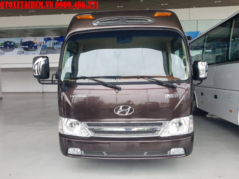 xe Hyundai County Limousine