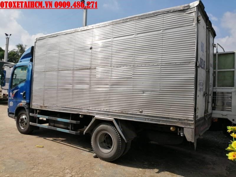 xe 6T thùng kín cũ