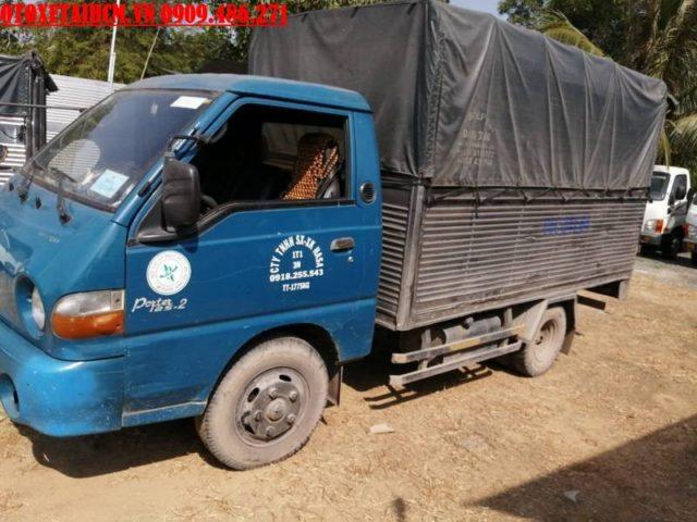 xe tải 1.25 tấn cũ hyundai