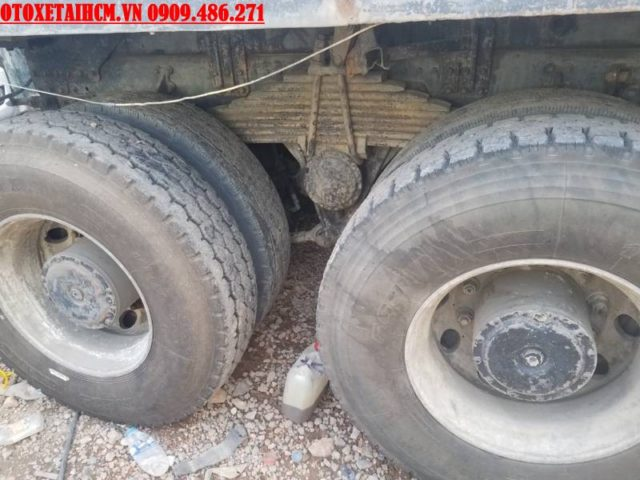 xe ben tự đổ hyundai cũ