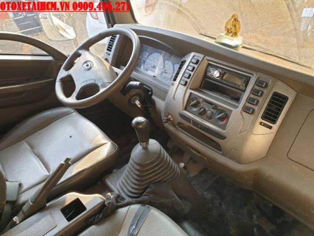 nội thất xe 2.5 tấn cũ
