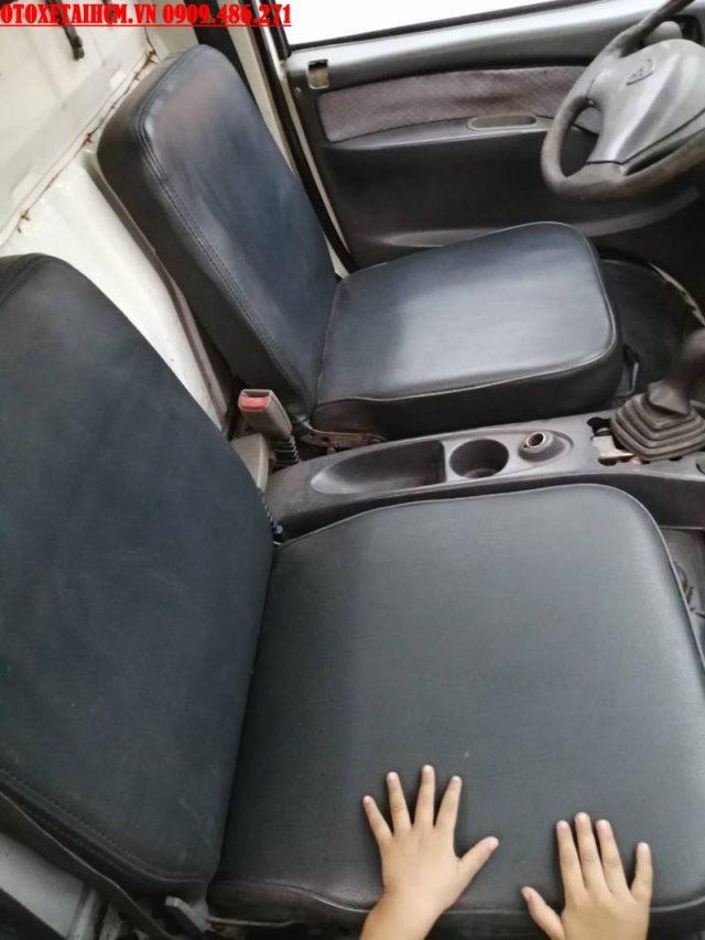 nội thất xe tải vinaxuki 650kg cũ