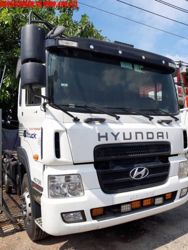 DAU KEO HYUNDAI HD700 CU