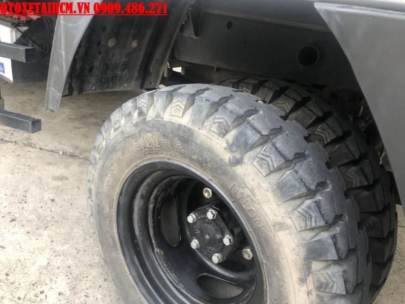 lốp xe Kia K125 1.25 tấn cũ