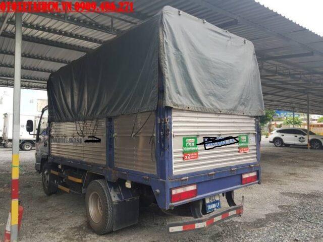 thung xe tải jac 2.4 tấn cũ